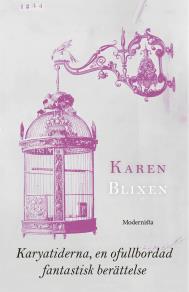 Cover for Karyatiderna, en ofullbordad fantastisk berättelse