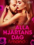 Cover for Alla hjärtans dag: Amanda - erotisk novell