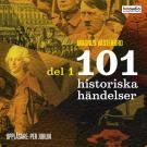 Bokomslag för 101 historiska händelser, del 1