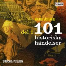 Cover for 101 historiska händelser, del 1