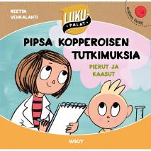 Cover for Pipsa Kopperoisen tutkimuksia: Pierut ja kaasut