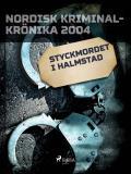 Omslagsbild för Styckmordet i Halmstad