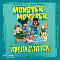 Omslagsbild för Monster Monster - Varulvsvätten