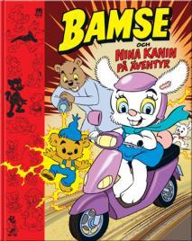 Omslagsbild för Bamse och Nina Kanin på äventyr