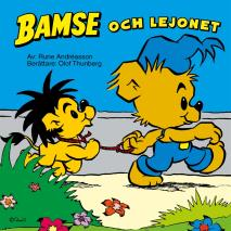 Cover for Bamse och Lejonet