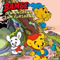 Cover for Bamse och ungarna som försvann