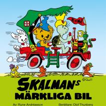 Omslagsbild för Skalmans märkliga bil