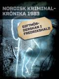Omslagsbild för Giftmörderskan i Fredrikshald