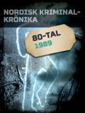 Omslagsbild för Nordisk kriminalkrönika 1989