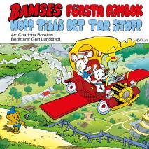 Cover for Bamses första rimbok - hopp tills det tar stopp