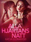 Cover for Alla hjärtans natt - erotisk novell