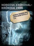 Omslagsbild för Maria Åkerbloms hemlighetsfulla liv