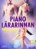 Cover for Pianolärarinnan - erotisk novell