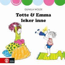 Cover for Totte och Emma leker inne