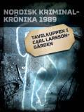 Bokomslag för Tavelkuppen i Carl Larsson-gården