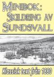 Cover for Minibok: Skildring av Sundsvall – Återutgivning av text från 1880
