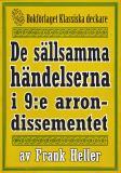 Cover for De sällsamma händelserna i 9:e arrondissementet. Återutgivning av text från 1935