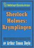 Cover for Sherlock Holmes: Äventyret med krymplingen – Återutgivning av text från 1911