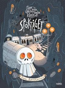 Cover for Sagan om den underbara familjen Kanin och Spöktåget