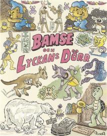 Cover for Bamse och Lyckans dörr