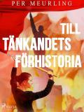 Cover for Till tänkandets förhistoria
