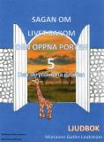 Cover for Den skrytsamma giraffen