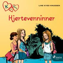 Cover for K for Klara 1 - Hjertevenninner