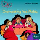 Cover for K for Klara 4 - Overnatting hos Malou