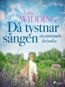 Cover for Då tystnar sången: en småstadskrönika