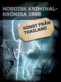 Cover for Konst från Thailand