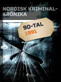Cover for Nordisk kriminalkrönika 1991