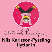 Cover for Nils Karlsson-Pyssling flyttar in
