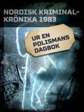 Cover for Ur en polismans dagbok