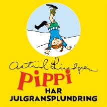 Cover for Pippi Långstrump har julgransplundring