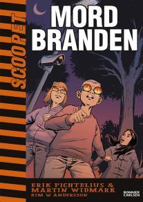 Cover for Scoopet. Mordbranden