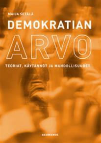 Cover for Demokratian arvo