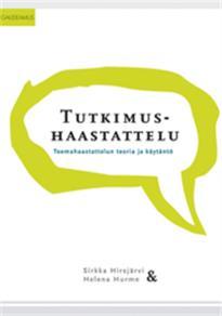 Cover for Tutkimushaastattelu