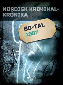 Cover for Nordisk kriminalkrönika 1987
