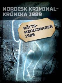 Cover for Rättsmedicinaren 1989