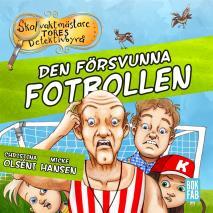Cover for Den försvunna fotbollen