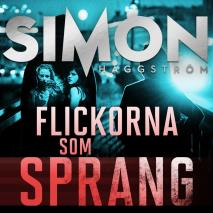 Cover for Flickorna som sprang