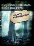 Cover for Folkets förhandsdom