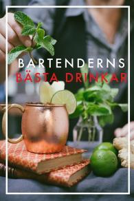 Cover for Bartenderns bästa drinkar