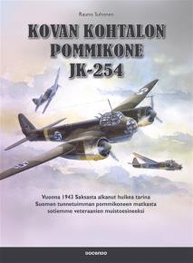 Cover for Kovan kohtalon pommikone JK-254