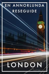 Cover for LONDON EN ANNORLUNDA RESEGUIDE