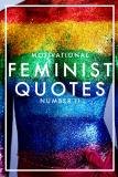 Cover for MOTIVATIONAL FEMINIST QUOTES 2