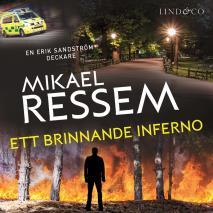 Cover for Ett brinnande inferno