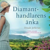 Cover for Diamanthandlarens änka