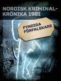Cover for Fyndiga förfalskare