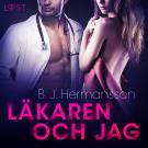 Cover for Läkaren och jag - erotisk novell